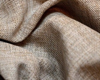 Grey Neutral Textured Upholstery Fabric