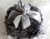 CUSTOM order for Denise only - Petite Powder Puffs - mini size - gift boxed