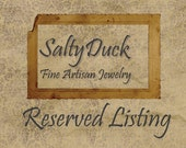 Reserved Listing for kathryndory