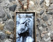 If I Could Take It Back I Would Another Pendant Necklace Statue Jewelry Cemetary Statues Etsy Alteredhead Design Jewelry