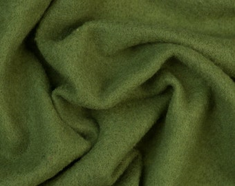 Extra fine merino Prefelt, Ivy Green, 19 microns, 59 in. wide