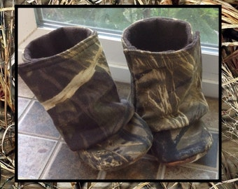 Baby Boots, Max 4 HD Camo / Baby Boy Boots / Baby Girl Boots / Camo Baby Boots / Newborn Boots / Infant Boots / Toddler Boots