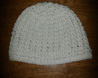 Crocheted Beanie Cap