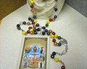 Seven African Powers Rosary Necklace