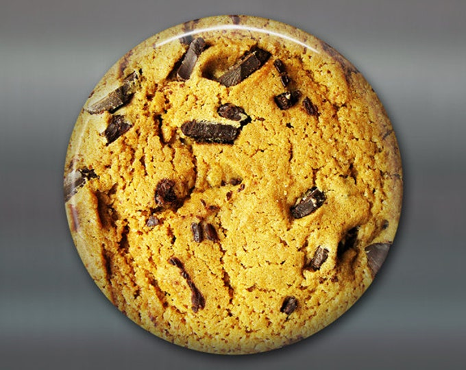 """3.5"""" Refrigerator Magnets with chocolate chip cookie magnet, housewarming gift, food magnets, kitchen decor, kitchen magnet, MA-1601"""