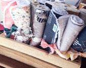 Burp Cloth Bundle, Chenille Burp Rags, Choose Your Own, Baby Essentials,  Modern Designer Fabrics, Aztec, Woodland, Geos, Gold