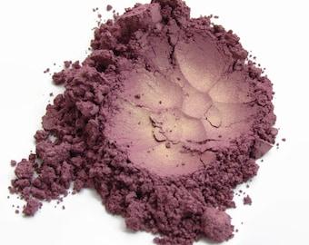 Purple Gold Iridescent Mineral Eyeshadow - SUNBURST