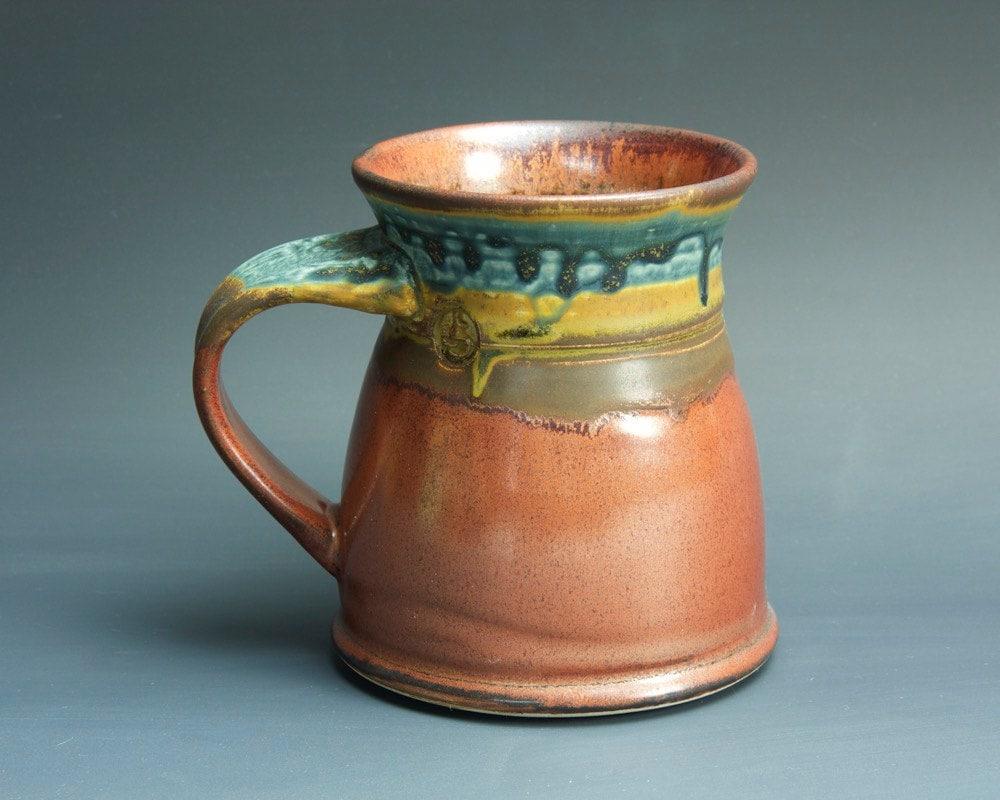 Handmade pottery coffee mug ceramic mug stoneware tea cup 16