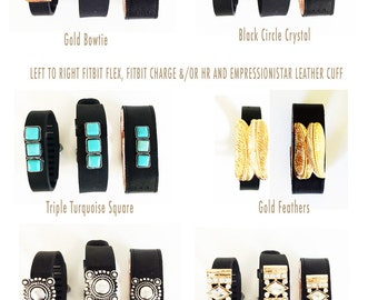 Jewelry Fitbit Finding Fitbit Glam Fitbit Bling Fitbit Accessory Fitbit Charm Fitbit Gems / Fitbit Decoration for Wristband or Leather Cuff