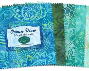5in Squares Ocean View 24pcs