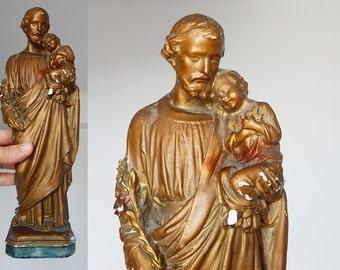 french statue Saint Joseph