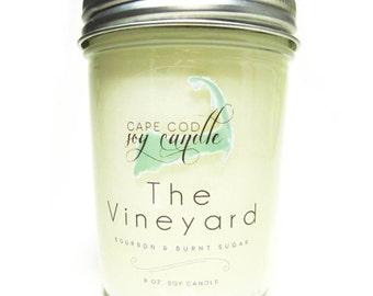 8 oz. Vintage Jelly Jar Soy Candle