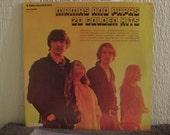 Mamas and Papas vinyl record - Original - 20 Golden Hits vinyl - Double Album Set - Vintage Record lp in VG++ Condition.