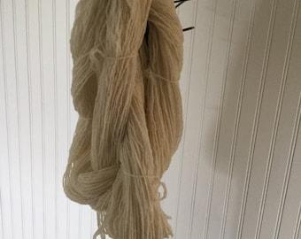 Hand Spun Yarn, 2ply, 300 yards, Free Shipping