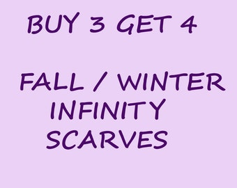 Fall infinity scarf winter infinity scarf crochet scarf cowl scarf bubble scarf loop scarf circle scarf christmas gift holiday gift