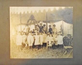 Large Antique Photograph
