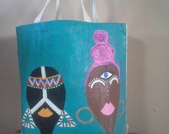 Tehnaz and Mohindi Tote Bag