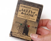 Vintage Seamanship Cards  - Rules of the Road Flash Cards
