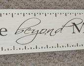 Love Beyond Measure Hand Painted Wooden Sign
