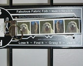 Great Pyrenees AKC Working Group Dog Puppy ~ C47 ~ Key Chain Fob ~ Zipper Pull
