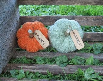 Primitive Pumpkin Gourds Bowl Fillers Ornies