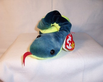 Ty Beanie Baby Hissy the Snake - Collectibles,Gifts,Toys,Beanie babies