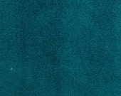 Peacock solid teal velvet decorative pillow cover