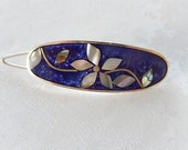 Vintage Hair Clip, Hair Accessories, Made in Mexico, Gift for Her