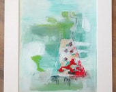 "Acrylic painting ""All Dressed Up"" original 