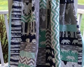 Birch Tree Collection Baby Quilt
