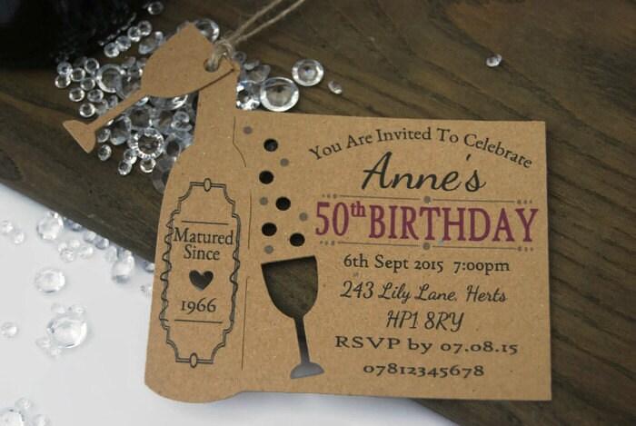 30th birthday invitation – Personalised 30th Birthday Invitations