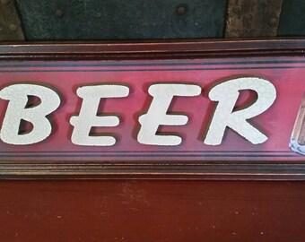 Beer Sign-Vintage