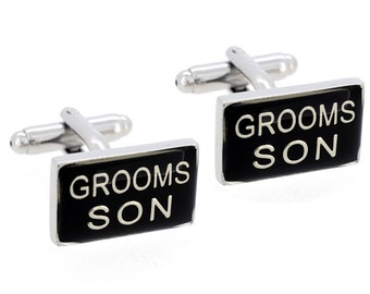 Grooms Son Wedding Cufflinks 1200506