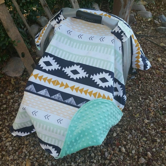 Like this item? & Baby Car Seat Canopy Baby Car Seat Cover Aztec Car Seat