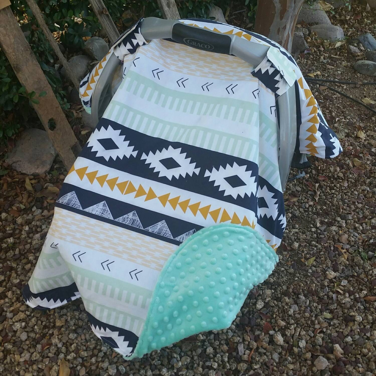 baby car seat canopy baby car seat cover aztec car seat. Black Bedroom Furniture Sets. Home Design Ideas