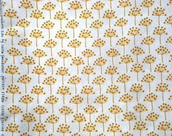 Echo Little Florine gold Lotta Jansdotter Windham fabric FQ or more