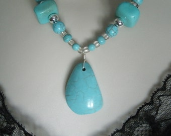 Turquoise Necklace, southwestern jewelry southwest jewelry turquoise jewelry native american jewelry theme western jewelry country necklace