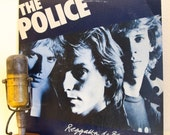 "ON SALE The Police Vinyl Record Album 1970s British English White Reggae Pop Rock LP ""Regatta De Blanc""(Orig.1979 A&M)"