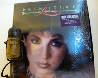 "Gloria Estefan & Miami Sound Machine Vinyl Record Album 1980s Dance Pop Rhythm ""Primitive Love"" (1985 Cbs w/""Conga"",""Words Get In The Way"")"