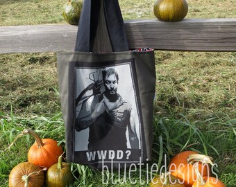 Walking Dead What Would Darryl Do (WWDD) Tote