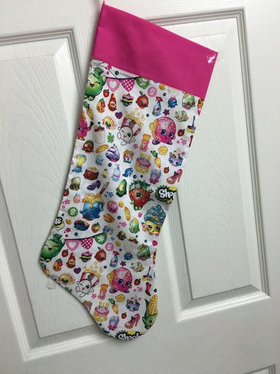 Disney shopkins christmas stocking