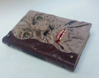 Necronomicon / Book of the Dead Blank Book with Aged Paper