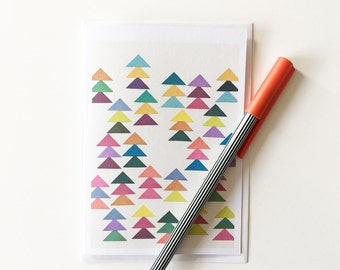 Colourful Card for Any Occasion, Blank Greetings Card - Lost in a Forest