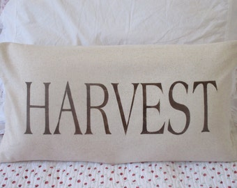 Harvest Pillow Cover