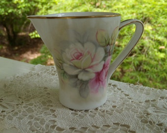 Vintage Narumi Hand Painted Creamer with Roses