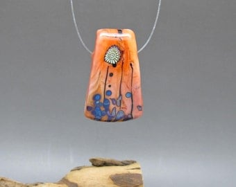 Some Like it Hot - Lampwork Focal Bead