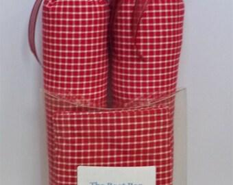 Raspberry Boot Trees & Boot Bag Set