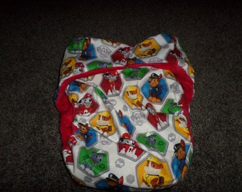 Adult Cloth Reusable Diaper Buy 4 Get 1 Free, Rescue Puppies