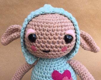 Imp // crochet amigurumi doll