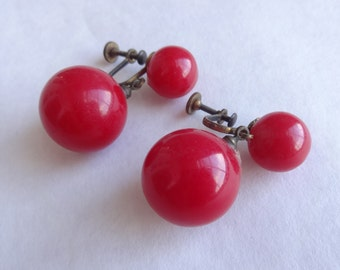 Basic Bakelite Earrings